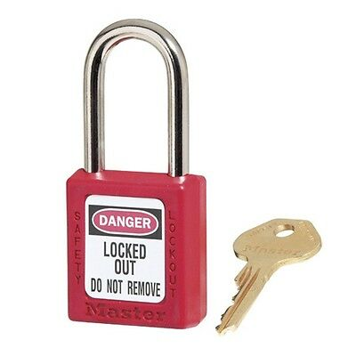 Masterlock 410 Safety Padlock Lockout Tagout Keyed Individually | AUTH. DEALER