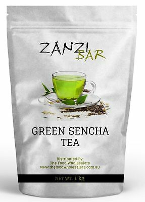ZanziBar Green Tea Sencha Japanese Style 500gm Bag
