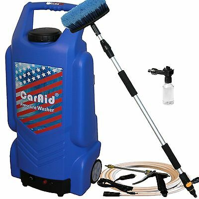 CarAid 9906 12V Portable Car Pressure Washer with Tank
