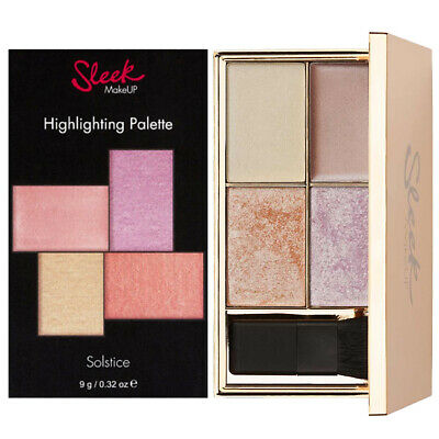 Sleek MakeUP - Solstice Highlighting Palette Shimmer Powder Cream Highlighter