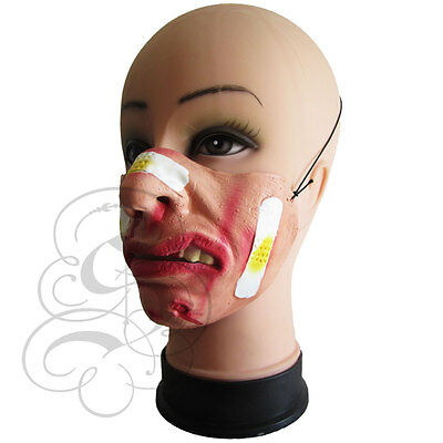 Funny Comedy People Half Face Mask Stag Fancy Party Costumes Cosplay LC