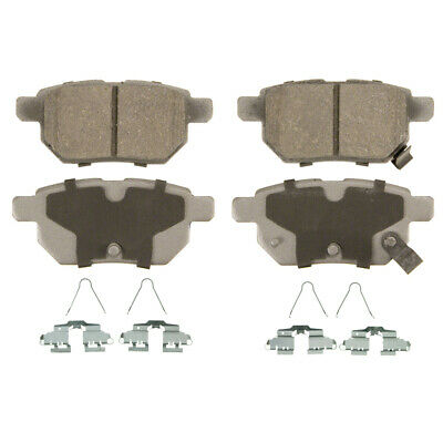 Disc Brake Pad-ThermoQuiet Rear WAGNER QC1423
