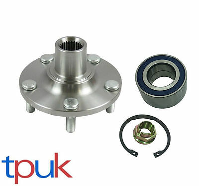 Brand New Ford Transit Connect Front Hub + Wheel Bearing Kit + Abs 2002 On