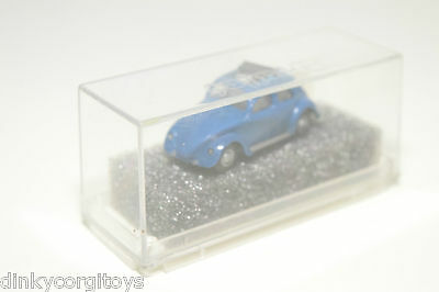Revell Praline Vw Volkswagen Beetle Kafer Split Window Sunroof Blue Mint Boxed