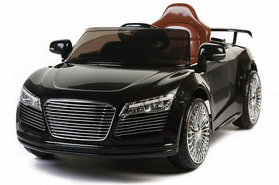 Battery. Operated Ride on Toy Car Audi R8 Style with 27 Mhz Remote Control 12V
