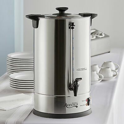 Avantco CU110 110 Cup (3 Gallon) Stainless Steel Commercial Coffee Urn