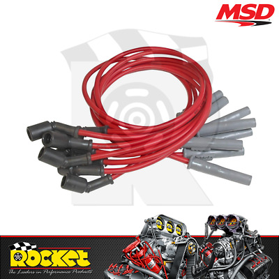 """MSD Super Conductor Ignition Leads 12"""" (Holden Commodore LS2) - MSD32829"""