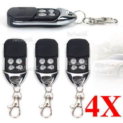 4 x Remote Control Compatible For ATA PTX-4 SecuraCode Garage Door Replacement