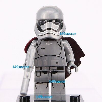 Star Wars ( Captain Phasma Trooper ) Mini Figure Fits Lego Super Hero