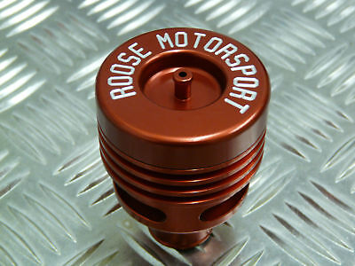 Collins Performance Roose Motorsport 25mm Universal Twin Piston Dump Valve Red