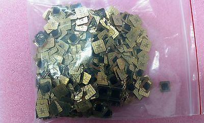 Lot 1000   Sim cards plates and chip scrap for  gold recovery.