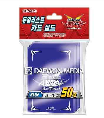 "Yugioh Zexal Duelist Card Sleeves [50PCS] ""ARC-V : Blue"" / KONAMI"