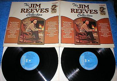 JIM REEVES UK LP x2 DOBLE LP THE JIM REEVES COLLECTION Recopilatorio Exitos