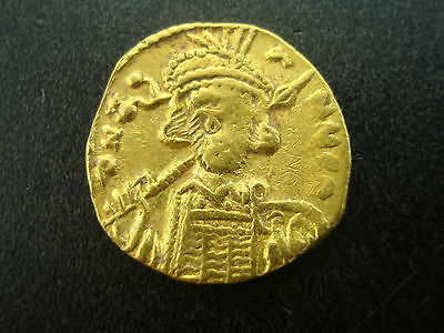 Byzantine Empire Gold Solidus Coin 668-685 Constantine IV From Hunt Brothers