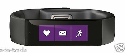 Microsoft Band Size large Smartwatch And Fitness Activity Tracker. New Sealed
