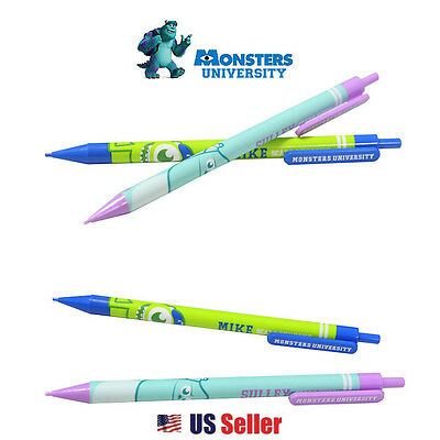 Disney Monsters University 0.5mm Mechanical Pencil Mike and Sulley : 2pcs Set