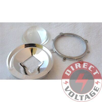 77mm Lens + 82mm Reflector Collimator Base + Fixed bracket For 20W-100W LED