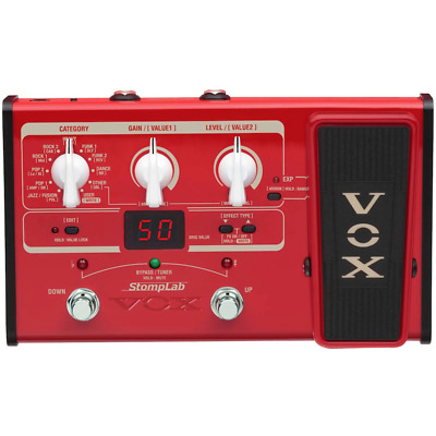 Vox Stomplab II Bass Multi Effects Pedal