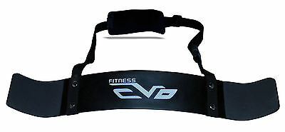 EVO Fitness Haltérophilie Bras Blaster Biceps Isolateur Gym Support Courroies