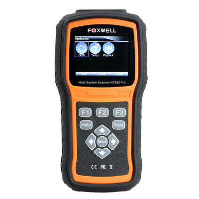 Foxwell NT510 OBD2 Scan Tool For Holden ABS SRS Oil Service Reset Code Reader