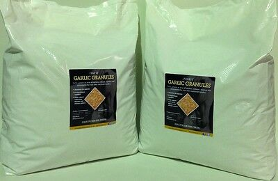 Pure Garlic Granules, a general health tonic & support for horses 2x10kg (20kg)