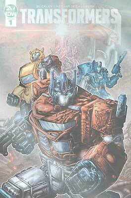Idw Transformers #1 Williams 1:50 Variant Scarce! New/unread Bagged & Boarded
