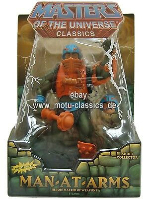 Man at Arms 2010 2. Auflage Masters of the Universe Classics He Man MOTU MOC NEU