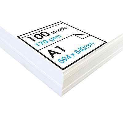 Artway STUDIO Cartridge Paper - 170gsm - A1, A2 & A3 Packs (100/200 Sheets)