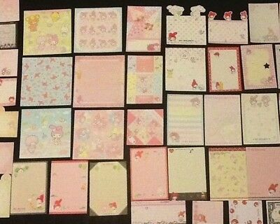 Sanrio My Melody  Stationery Lot 40 Pieces All Different