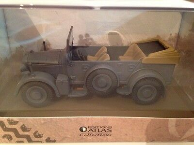 Horch Kfz 15 German Army WWII New 1:43 Scale Model on Base