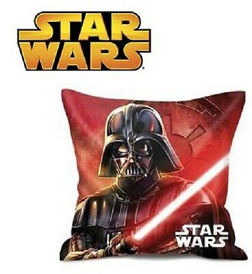 Star Wars Cuscino Cameretta Darth Vader 35X35 Cm