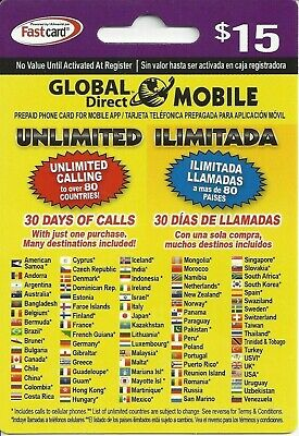 UNLIMITED Prepaid Phone Calling Card Minutes. Use with Tracfone, Boost, any