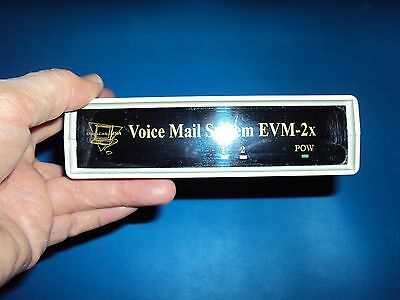 2 port Voice Mail System for analog PBX w/ full featured Auto Attendant Audiotex