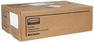 Rubbermaid Commercial Tuffmade Polyliner Bags, 56 Gallons, 2 milliliters, 43 x