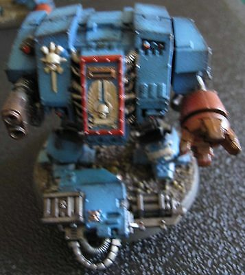 40K Space Marines Dreadnought A painted