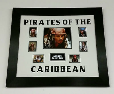 *** Johnny Depp Signed Autograph Pirates of the Caribbean PICTURE PHOTO  ***