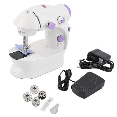 Multifunction Electric Mini Sewing Machine Household Desktop With LED New DE