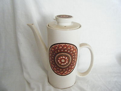 C4 Pottery Lord Nelson Jewel Song Coffeepot 21x25x10cm 1C2C