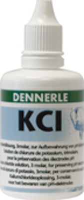 Dennerle KCL Solution for Care Storage & Maintenance of pH Electrodes 50ml • EUR 8,28