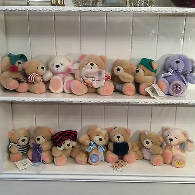 Fantastic Andrew Brownsford Teddy Bears Forever Friends Great For Collectors