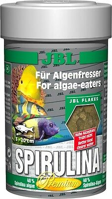 JBL Premium Spirulina Flakes 100ml - Food For Algae Eating Fish & Shrimp