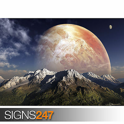 SERENITY (3058) Space Photo Picture Poster Print Art A0 A1 A2 A3 A4