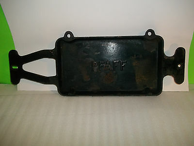 Antique Pfaff Treadle Sewing Machine Table Oil Drip Catch Pan Tray