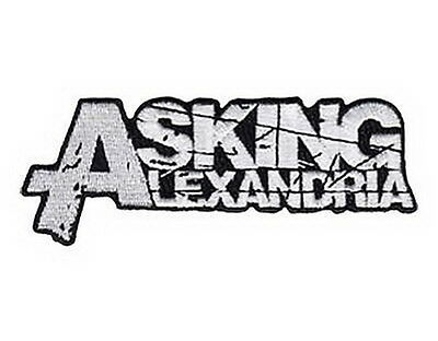 """Asking Alexandria Embroidered Iron On Sew On Metalcore Badge Patch 4.6""""x1"""""""