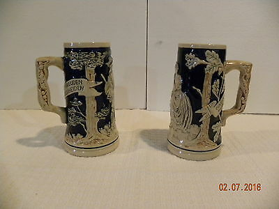 Two Beer Mugs made in West Germany