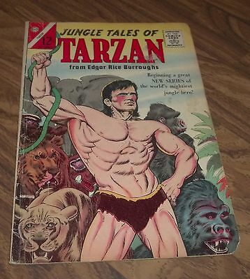 Tarzan :jungle Tales Of #1 Charlton Comic 1964 In Gd+