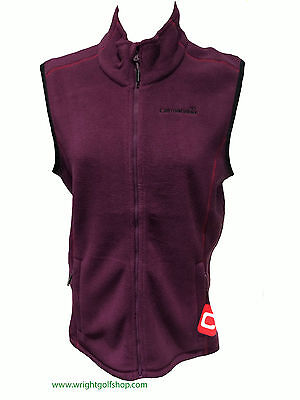 **NEW**  CATMANDOO LADIES 'MEJA' FLEECE GILET size 14 colour GRAPE