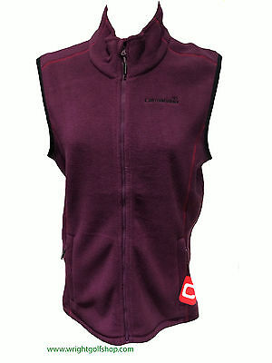 **NEW**  CATMANDOO LADIES 'MEJA' FLEECE GILET size 16 colour GRAPE