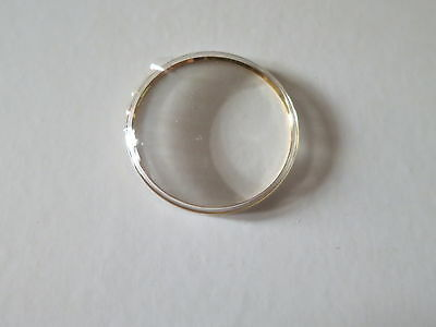 Parts 29.6mm @ Yellow Tension Ring Plastic Crystal Glass For OMEGA
