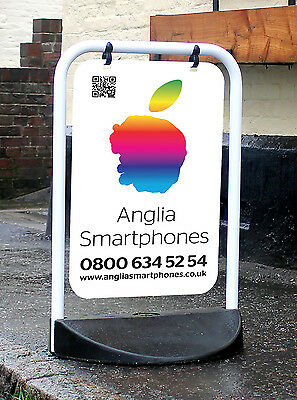 Swinging Pavement Sign Outdoor Advertising Shop A-Board Eco Swinger *BRAND NEW*